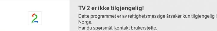 Gjennom å abonnere på IPvanish kan du se de fleste Norske TV programmer
